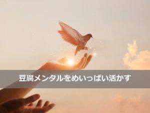 豆腐メンタル活用タイトル